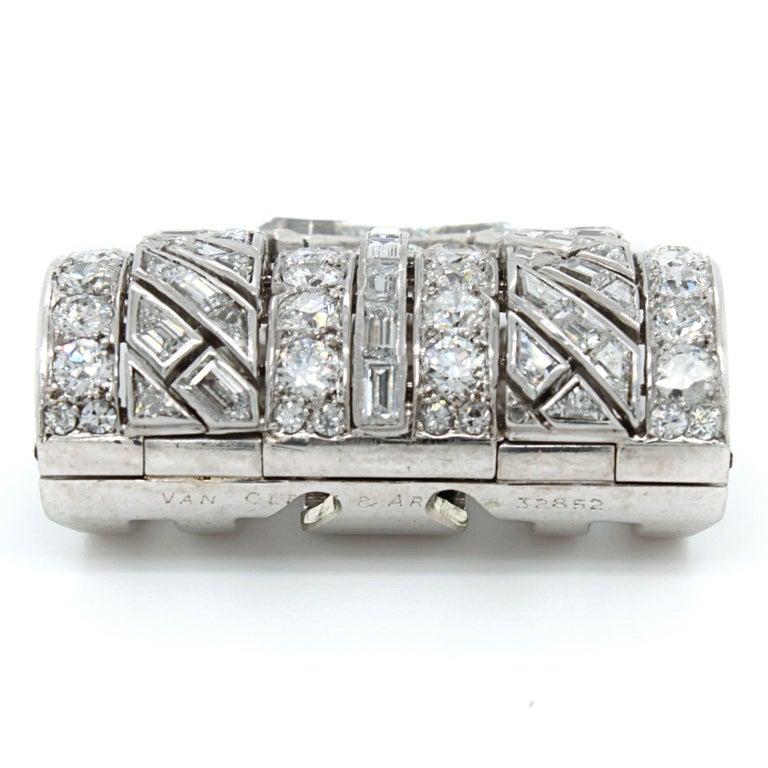Van Cleef & Arpels Diamond Art Deco Clip, France, ca. 1920s For Sale 1