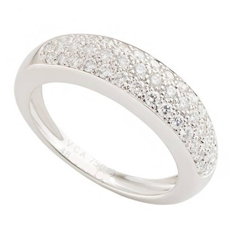 Van Cleef & Arpels Diamond Band Ring