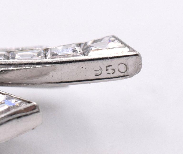 Van Cleef & Arpels Diamond Bouquet Brooch For Sale 2
