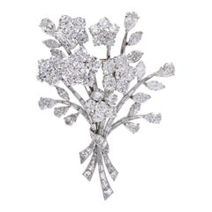 Van Cleef & Arpels Diamond Bouquet Brooch