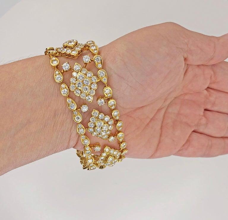 Van Cleef & Arpels Diamond Bracelet For Sale 1