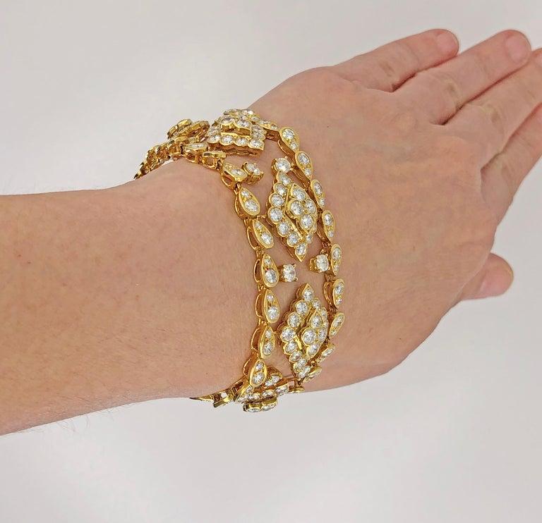 Van Cleef & Arpels Diamond Bracelet For Sale 3