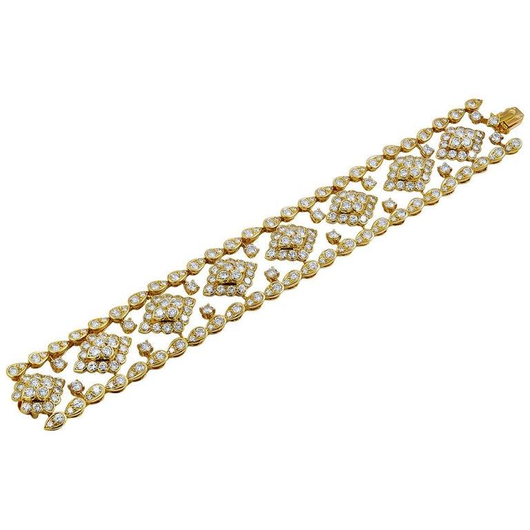 Van Cleef & Arpels Diamond Bracelet For Sale