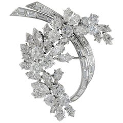 Van Cleef & Arpels Diamond Garland Brooch