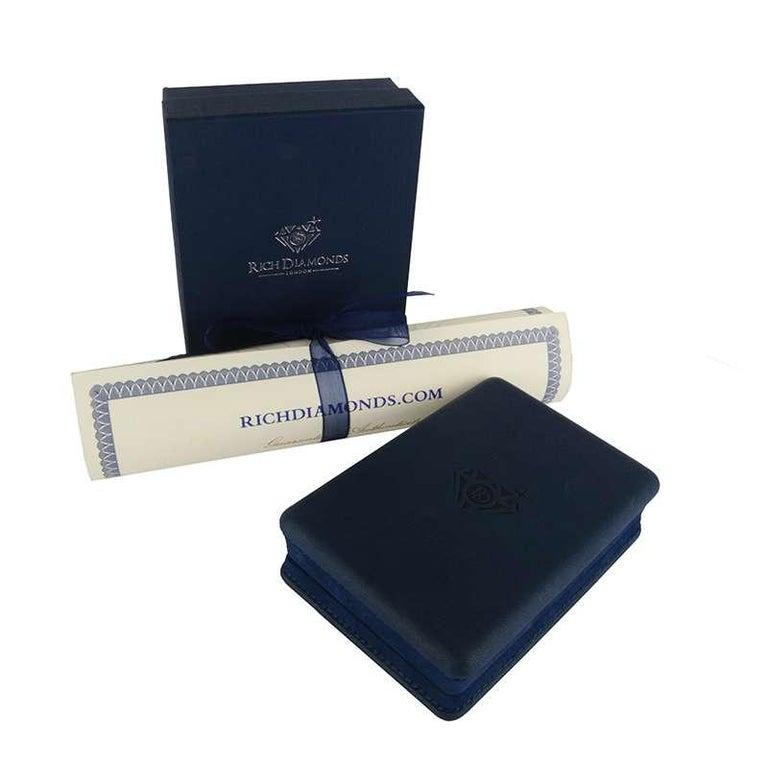 Women's Van Cleef & Arpels Diamond Button Pendant 1.00 Carat For Sale