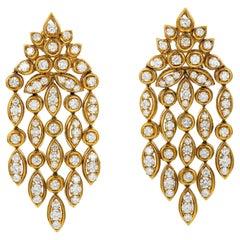Van Cleef & Arpels Diamond Chandelier Earrings