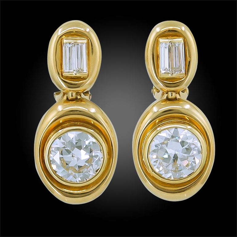 Mixed Cut Van Cleef & Arpels Diamond Convertible Necklace Suite For Sale