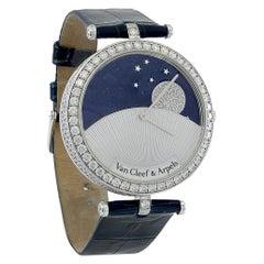 Van Cleef & Arpels Diamond Night and Day Wristwatch