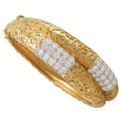 Van Cleef & Arpels Diamond Double Row Bracelet