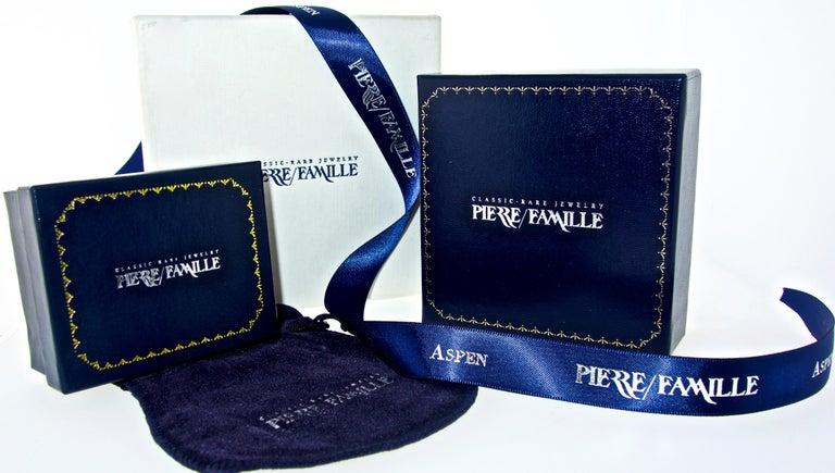 Van Cleef & Arpels Diamond Earrings For Sale 4
