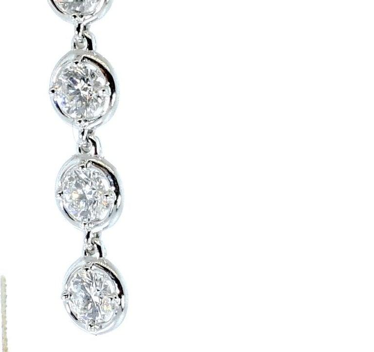 Van Cleef & Arpels Diamond Earrings, French For Sale 2