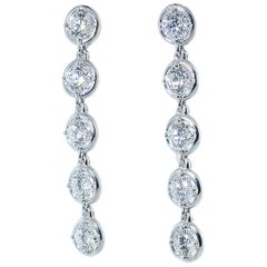 Van Cleef & Arpels Diamond Earrings, French