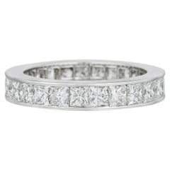 Van Cleef & Arpels Diamond Eternity Band 2.85 Carat