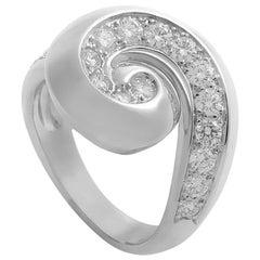Van Cleef & Arpels Diamond Gold Breeze Ring
