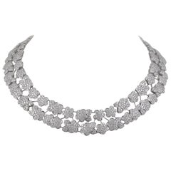 Van Cleef & Arpels Diamond Melusine Necklace, 36 Carat