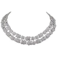 Van Cleef & Arpels Diamond Melusine Necklace