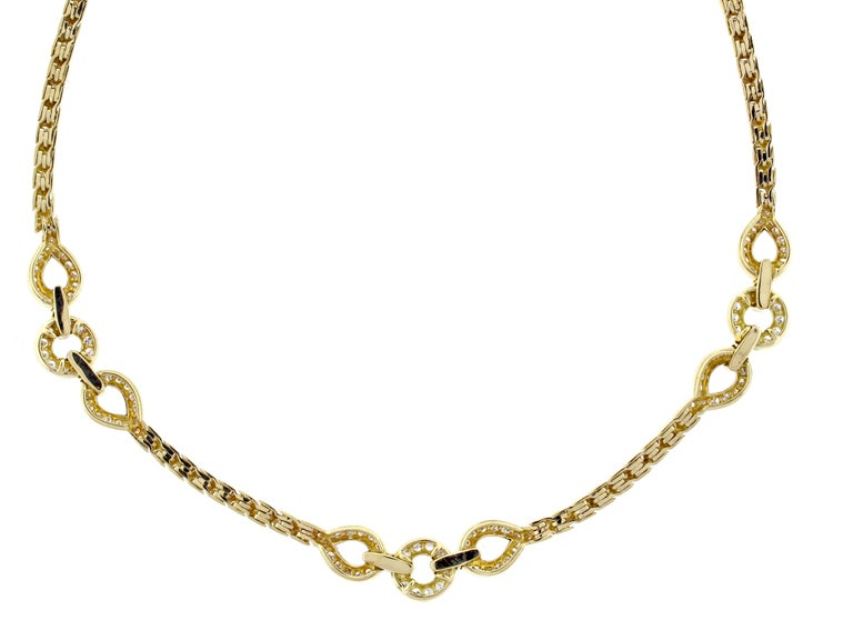 Van Cleef & Arpels Diamond Necklace In Excellent Condition For Sale In Bethesda, MD