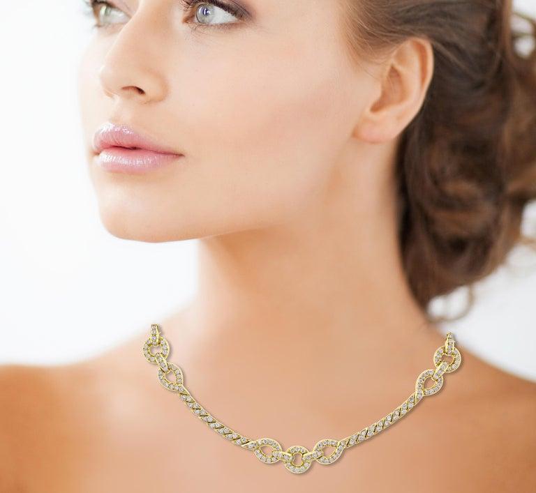 Van Cleef & Arpels Diamond Necklace For Sale 2