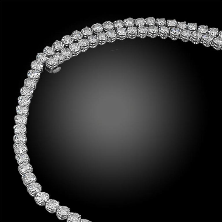 Women's Van Cleef & Arpels Diamond, Pearl Detachable Necklace For Sale