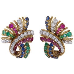 Van Cleef & Arpels Tutti Frutti Earrings