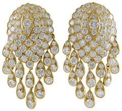 Van Cleef & Arpels Diamond Tassel Earrings