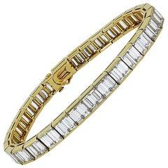 Van Cleef & Arpels Diamond Tennis Bracelet