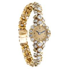 Van Cleef & Arpels Diamond Watch Bracelet