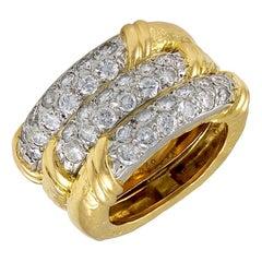Van Cleef & Arpels Diamond Wedding Band