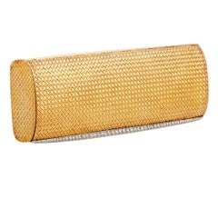 Van Cleef & Arpels Diamond Yellow Gold Evening Clutch