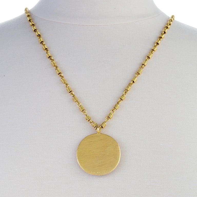 Women's or Men's Van Cleef & Arpels Dragon Zodiac Pendant Necklace For Sale
