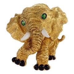 Van Cleef & Arpels Elephant Brooch