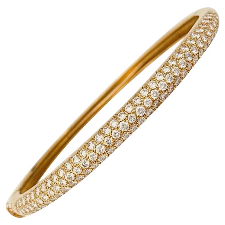 "Van Cleef & Arpels ""Eve"" Diamond Bracelet For Sale"