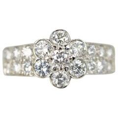 Van Cleef & Arpels Fleurette Diamond Ring Discontinued