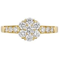 Van Cleef & Arpels Fleurette Yellow Gold Ladies Ring ARA47352