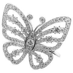Van Cleef & Arpels Flying Butterfly Diamond Ring