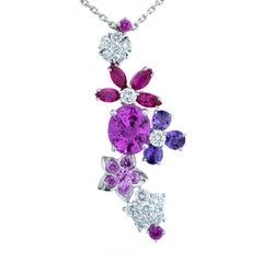 Van Cleef & Arpels Folie Des Pres Sapphire and Diamond Necklace