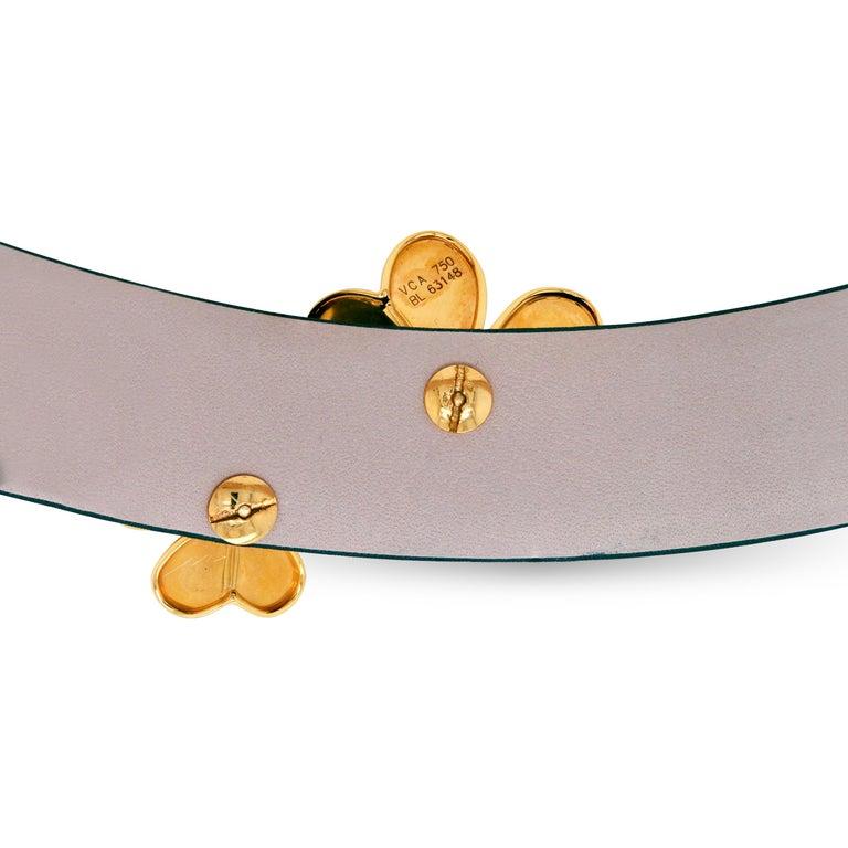 Women's Van Cleef & Arpels Frivole 18 Karat Yellow Gold Diamond Collar Choker Necklace For Sale