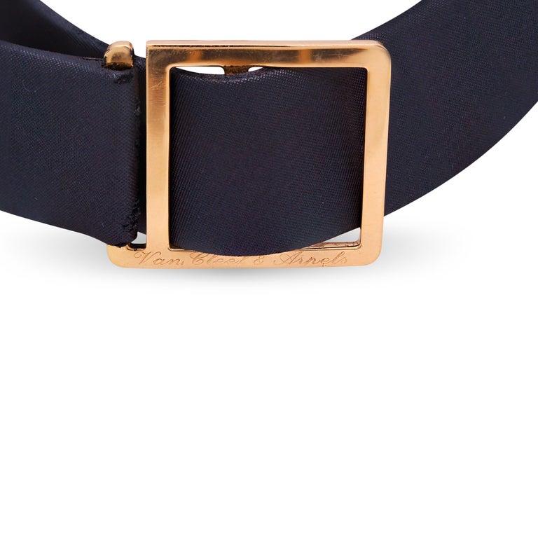 Van Cleef & Arpels Frivole 18 Karat Yellow Gold Diamond Collar Choker Necklace For Sale 2
