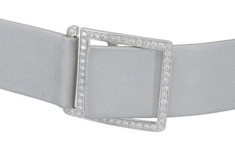 Van Cleef & Arpels Frivole Diamond Collar Necklace For Sale 2