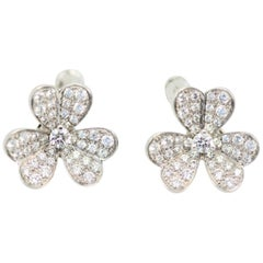 Van Cleef & Arpels Frivole Diamond Earrings