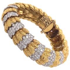 Van Cleef & Arpels Gold and Diamond Bracelet