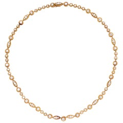 Van Cleef & Arpels Gold and Diamond Necklace