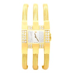 Van Cleef & Arpels Gold and Diamonds Ladies Wristwatch