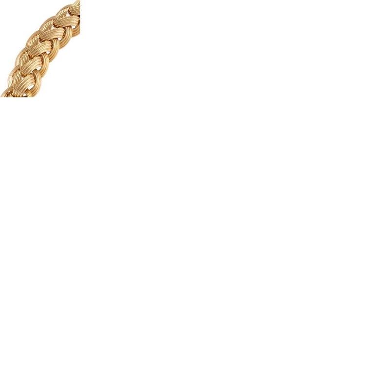 Women's Van Cleef & Arpels Gold Bracelet For Sale