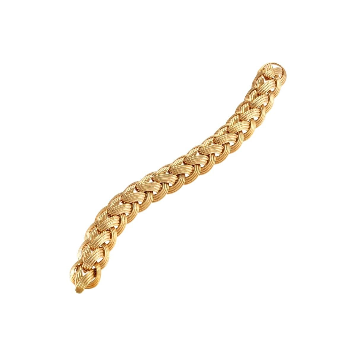 Van Cleef & Arpels Gold Bracelet