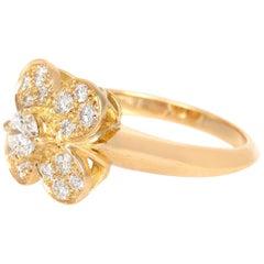 Van Cleef & Arpels Gold Flower Ring