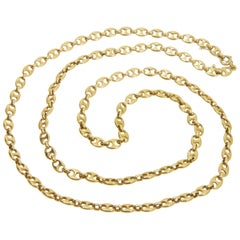 Van Cleef & Arpels Gold Gucci-Style Anchor Link Chain, circa 1975