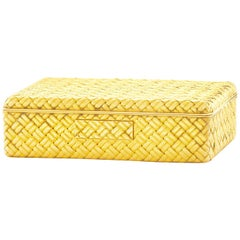 Van Cleef & Arpels Gold Pill Box