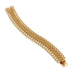 Van Cleef & Arpels Gold Ropetwist Bracelet