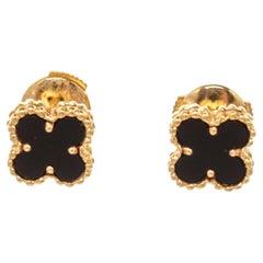 Van Cleef & Arpels Gold Sweet Alhambra Earring
